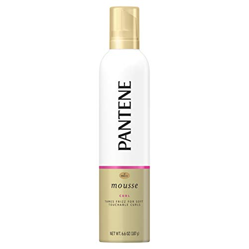 (Pantene Pro-V Curls Defining Mousse, Maximum Hold 6.6 oz - Packaging May)