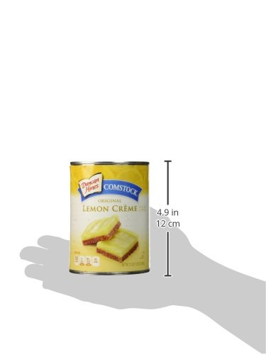 Comstock Lemon Creme Pie Filling and Topping 21 Oz Can (Pack of 2)