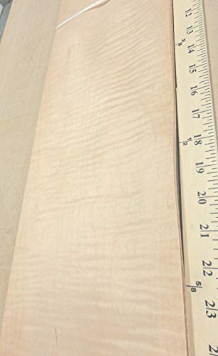 (Curly Maple figured quilted wood veneer 7