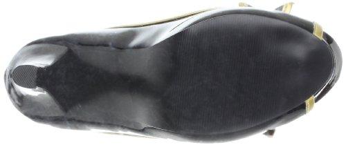 Black Gold Toe Funtasma Pilot Peep G B 03X Patent Women's Pump a787wqHxz