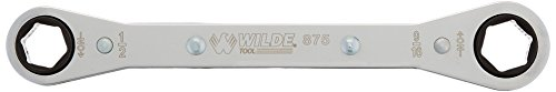 Wilde Tool 875 Ratchet Box Wrench, 1/2 inch x 9/16 inch