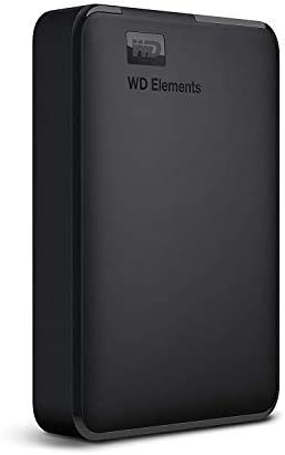 WD 4TB Elements Portable External Hard Drive, USB 3.0 – WDBU6Y0040BBK-WESN