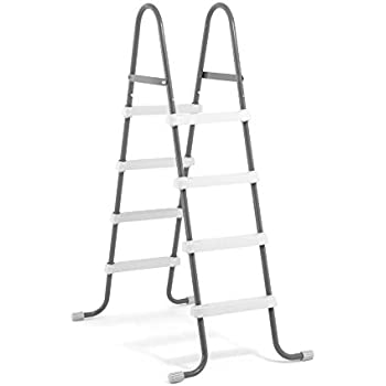 Intex 28066E Steel Frame Swimming Pool Ladder 48