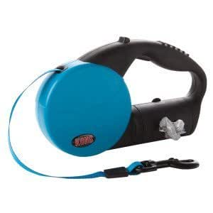 Kong On The Go Retractable Leash With Waste Bag 16 ft. Large
