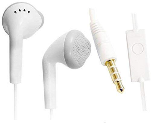 Earphones with Ultra Bass & Dolby Sound 0.33 mm Jack for All Samsung/Anroid/iOS Devices - (White-C15)
