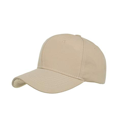 Forthery Unisex Vintage Baseball Cap Quick Dry Sports Hat Lightweight Breathable Adjustable Dad-Hat(Khaki)