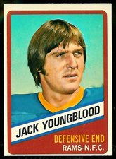Used, 1976 Topps Wonder Bread (Football) Card# 14 Jack Youngblood for sale  Delivered anywhere in USA