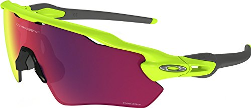 Oakley Men's Radar Ev Path Non-Polarized Iridium Rectangular Sunglasses, Retina Burn, 38 - Sunglasses Radar Path