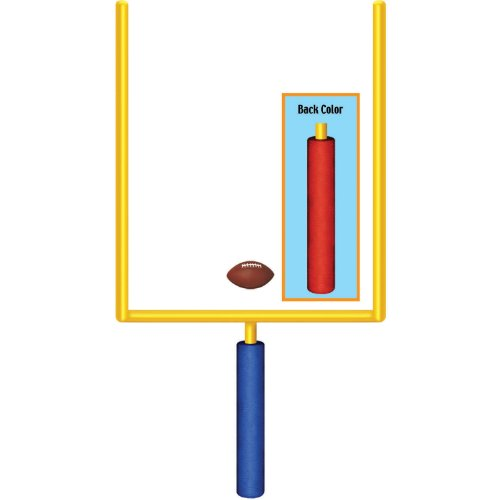 Jointed Goal Post Football Cutout