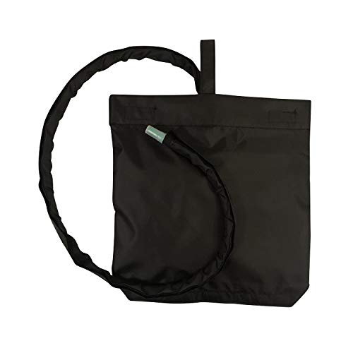 Urine Catheter Bag Cover with Snap on Pipe Cover & Hanging Strap - Easy Access ()