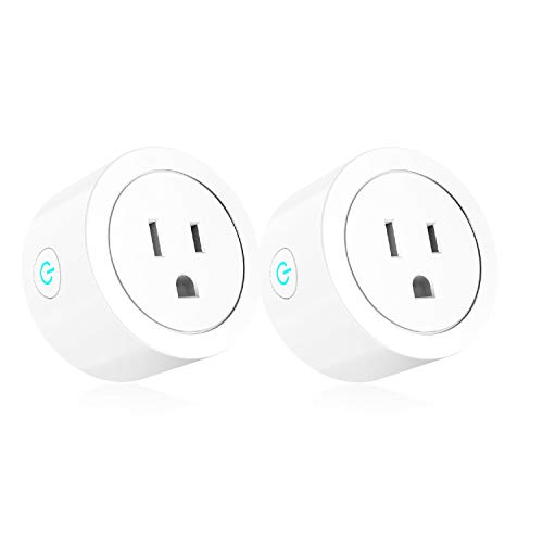 WiFi Smart Plug Compatible with Alexa Google Home IFTTT ETL FCC Rohs Listed Mini Smart Outlet