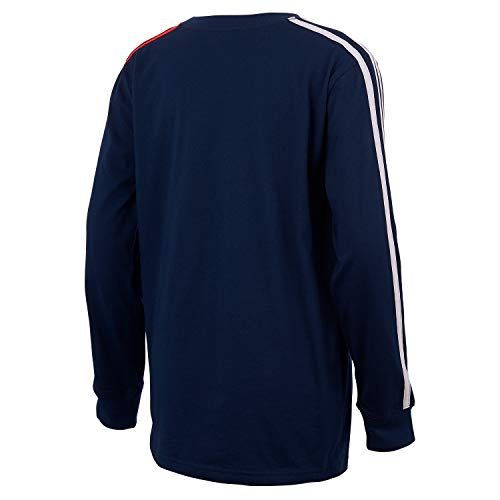 adidas Boys' Long Sleeve Cotton Jersey T-Shirt Tee 2