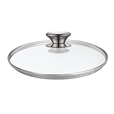 Cook N Home 02573 Tempered Glass Lid, Clear