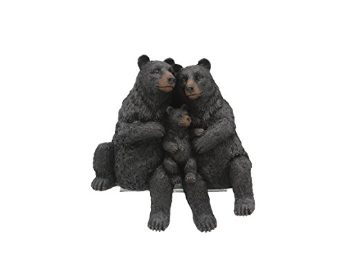 Young's Resin Bear Family Shelf Sitter Wall Decor, 6