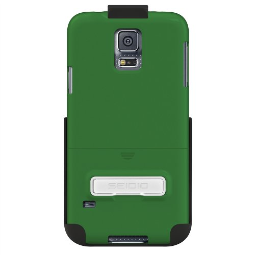 Seidio Surface Case with Metal Kickstand and Holster Combo for Samsung Galaxy S5 - Retail Packaging - - Innocase Surface Holster Seidio