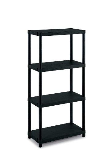 Scaffali In Plastica Ikea.Terry Scaffale 3060 4 In Plastica 60 X 30 X 132 Cm