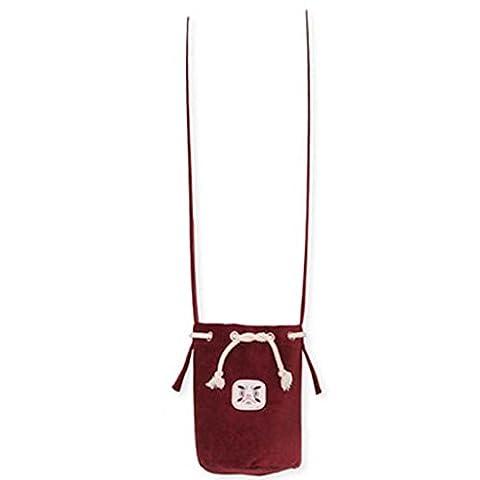 Binmer(TM) Women Shoulder Bag Corduroy Handbag Totes Vintage Coin Zero Small Bags (Wine) - Corduroy Womens Shoulder Bag