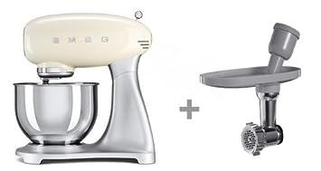 Amazon De Smeg Kuchenmaschine Mit Fleischwolf Set Ausstellungsmodell