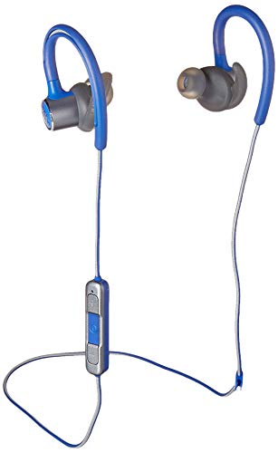 JBL Reflect Contour 2.0, Secure Fit, in-Ear Wireless Sport Headphone with 3-Button mic/Remote - Blue