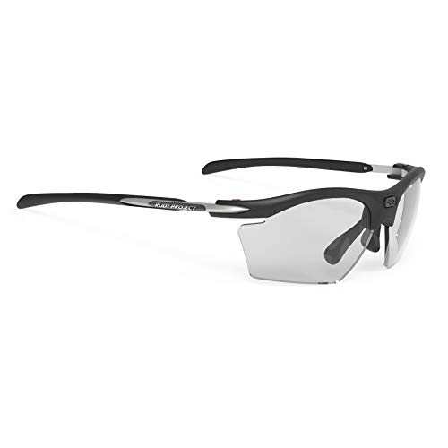 Rudy Project 2019 Rydon Slim Sports Cycling Sunglasses - Matte Black Frame - ImpactX-2 Photochromic Clear to Black ()