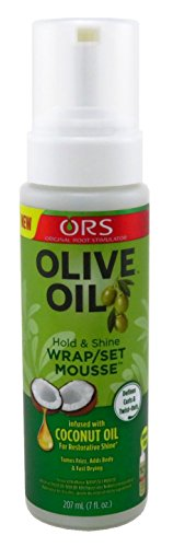 Ors Olive Oil Mousse Wrap / Set 7 Ounce (207ml) (3 Pack)