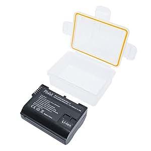 DMK Power EN-EL15 2250mAh (1) Battery and (1) TC-USB1 Single USB Charger for Nikon D600 D610 D800 D810 D7000 D750 Etc Cameras