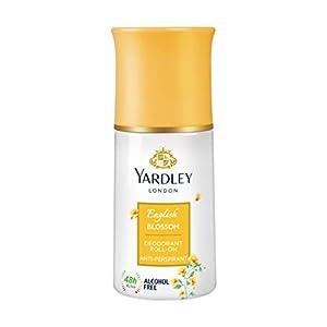 Yardley London English Blossom Anti Perspirant Deodorant Roll On for Women, 50ml