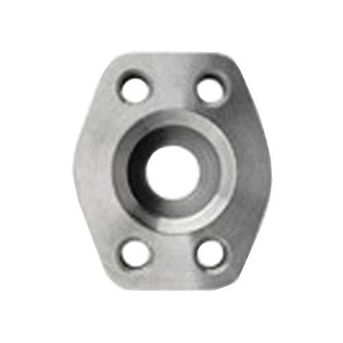 Code 61 Brennan Industries 1936-61-40-40 Steel Flat Socket Block Pipe Flat Face 1//2-13 NPT Thread 2-1//2 Flange 1//2-13 NPT Thread 2-1//2 Flange Inc.