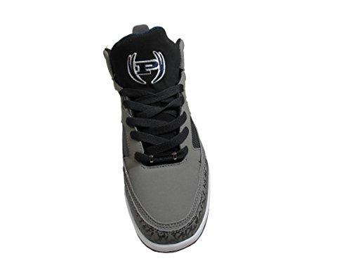 Phat Farm Morris Mens Alta Moda Sneakers Carbone / Nero / Blu Marino