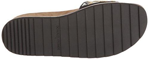 Donald J Pliner Femmes Cava3spm6 Sandale Plate Noir