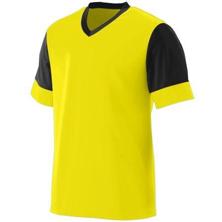 Silver Soccer Uniform - Averill's Sharper Uniforms Men's Game Day Soccer Jersey Silver/Black