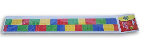 Colorful Building - Teaching Supplies Classroom Decor Colorful Brick Wall Borders - Set of 14
