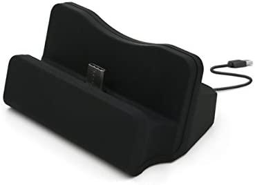 USB Type C Cargador Base, TopACE Cargador Dockstation Soporte para Huawei P10 HTC U11 Oneplus 5 Huawei mate 10/Pro/Lite Honor 7x Moto G5 y otros ...