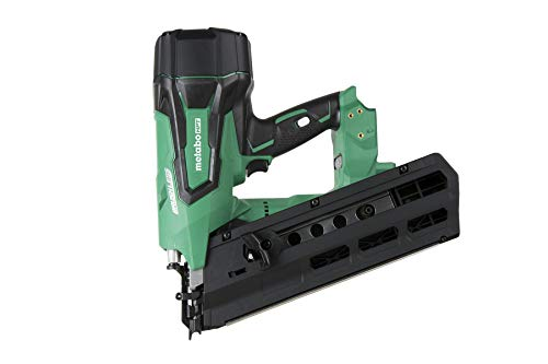 Metabo HPT NR1890DRQ4 18V Cordless Framing Nailer, Tool Only – No Battery, Brushless Motor, 2-Inch up to 3-1/2-Inch Round Plastic Strip Nails, Lifetime Tool Warranty