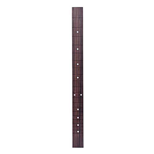 Homyl Rosewood Fingerboard Fretboard 21 Fret for 3 Strings Cigar Box Guitar DIY