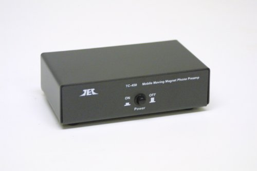 TCC TC-450 Battery/AC Mobile Phono Preamp, INCLUDES optional AC Adaptor
