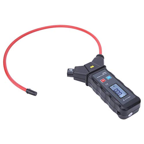 AC Kit Flexible Coil Clamp Meter Maintenance Current Measuring with Range AC 0.00A-9999A for Office for Indoor