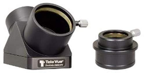 Tele Vue 2in 90 Degree Everbrite Diagonal w/2-1.25in Adapter,Black, DDP-8004