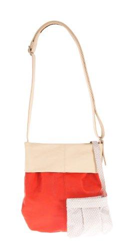 Bandoulière Orange Zwei nbsp;Shopper à Orange Mademoiselle M10 nbsp;cm Coral 31 White Beige Sac AAXFq