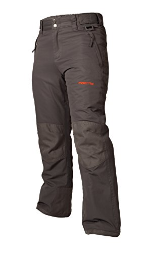 Arctix Youth Snow Pants with Reinforced Knees and Seat, Charcoal, - Boys Snow Bib