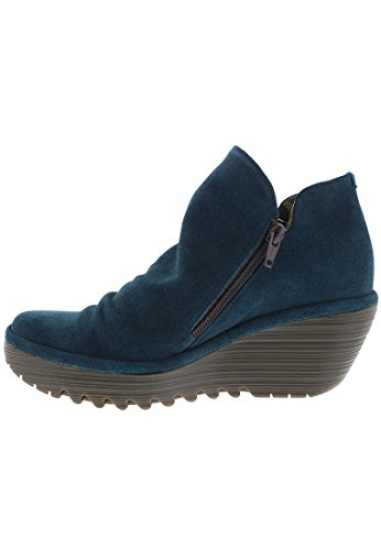 Fly London Yip Oil Suede, Women's Boots Green