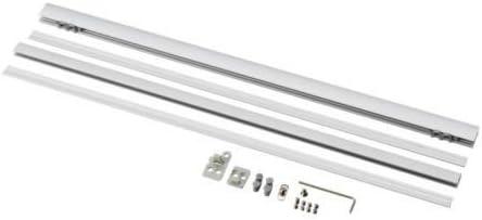Ikea Riel contrapeso para Cortinas (Aluminio): Amazon.es: Hogar