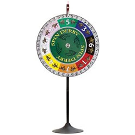 36 Spin Derby Prize Wheel W Extension Base