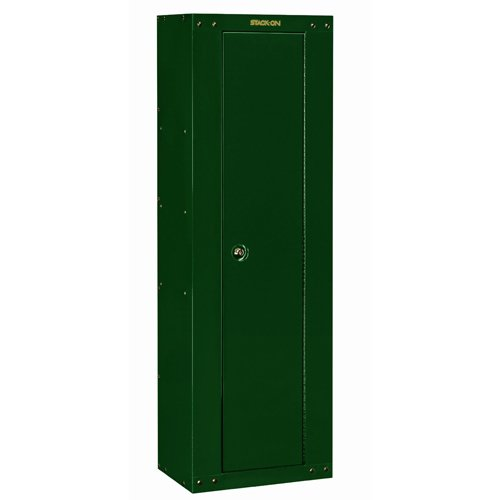 Stack-On GCG-8RTA Steel 8-Gun Ready to Assemble Security Cabinet, Hunter (Green Gun Safe)