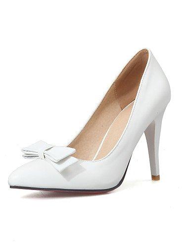 GGX/Damen Schuhe Frühling/Sommer/Herbst/Winter Heels/Basic Pumpe/spitz Toe Office Karriere/Party Abendkleid/Kleid white-us5.5 / eu36 / uk3.5 / cn35