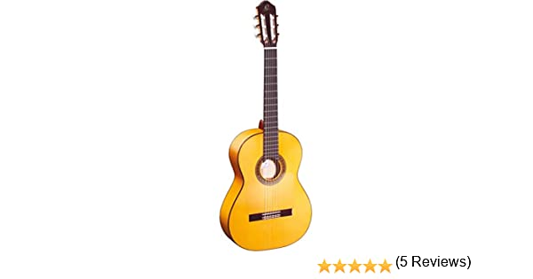 Ortega R270F - Guitarra clásica (picea, tamaño 4/4), color natural ...