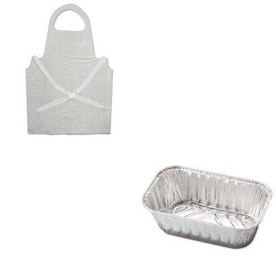 KITBWK390HFA31730 - Value Kit - Hfa Inc Aluminum Baking Pan (HFA31730) and Boardwalk Disposable Apron (BWK390)