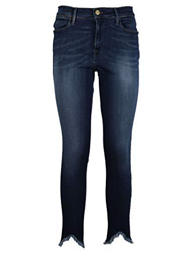 Jeans Blu Cotone Donna LHSKTR184 FRAME nSwBXdz0qS