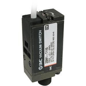 SMC ZSM1-021L - SMC ZSM1-021LPneumatic Vacuum Switch, Switch Action: Reed, Body Ported, 3 m Lead Wire, Free Cable Ends Connection (Switch Reed Body)