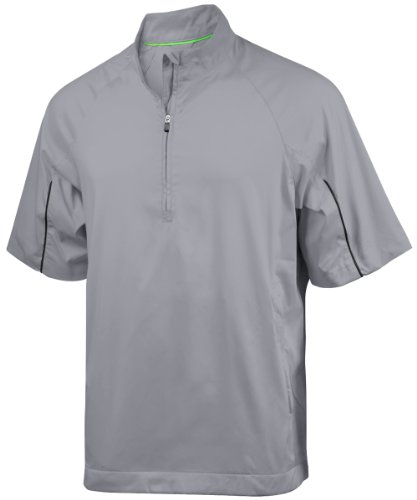 - adidas Men's Climaproof Wind Short Sleeve Jacket 2 - Coyote - Small